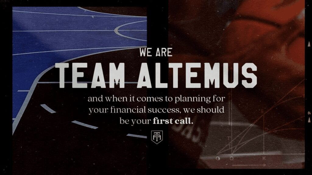 TeamAltemus branded collateral.