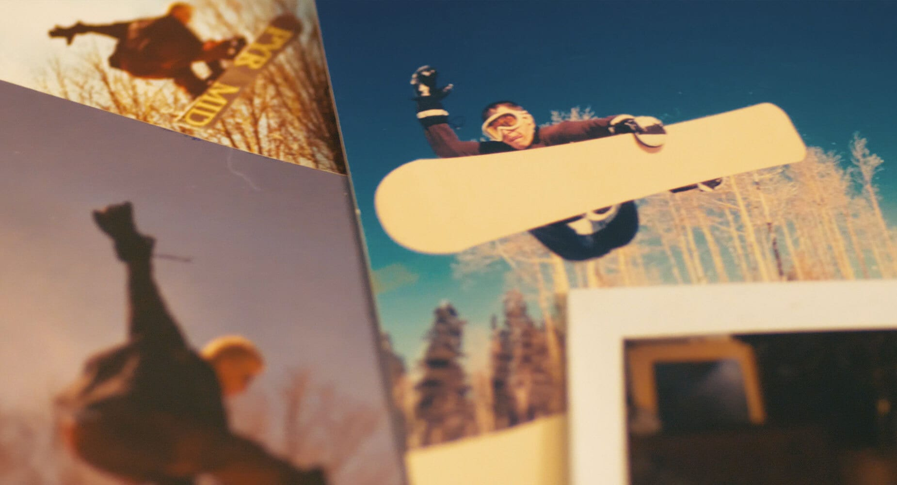 Defy snowboarding photography.