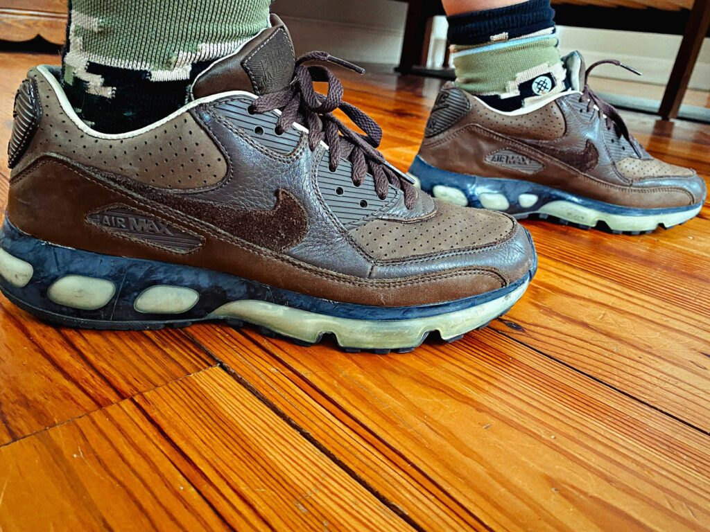 Air Max 90 – 360 One Time Only Baroque Brown-Black